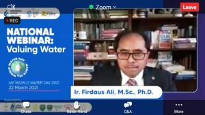Webinar Valuing Water